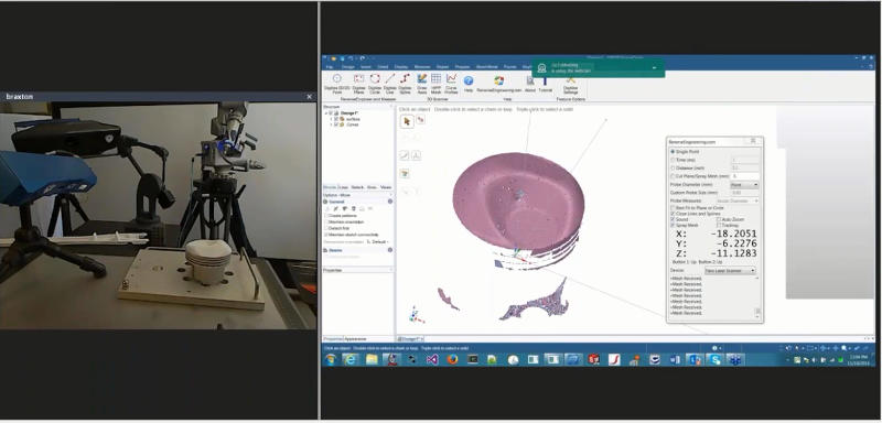 scan to cad ansys spaceclaim